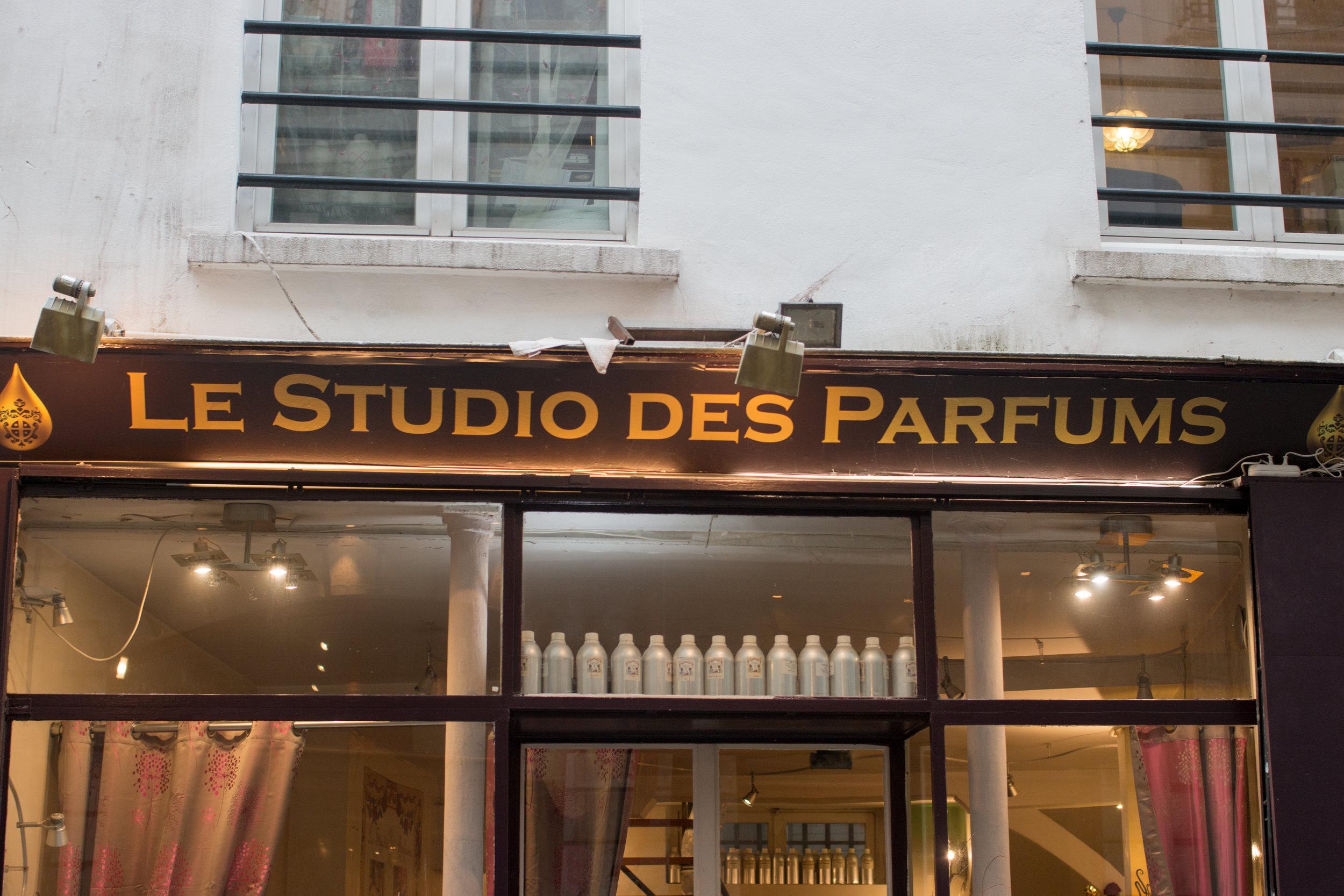 le studio des parfums