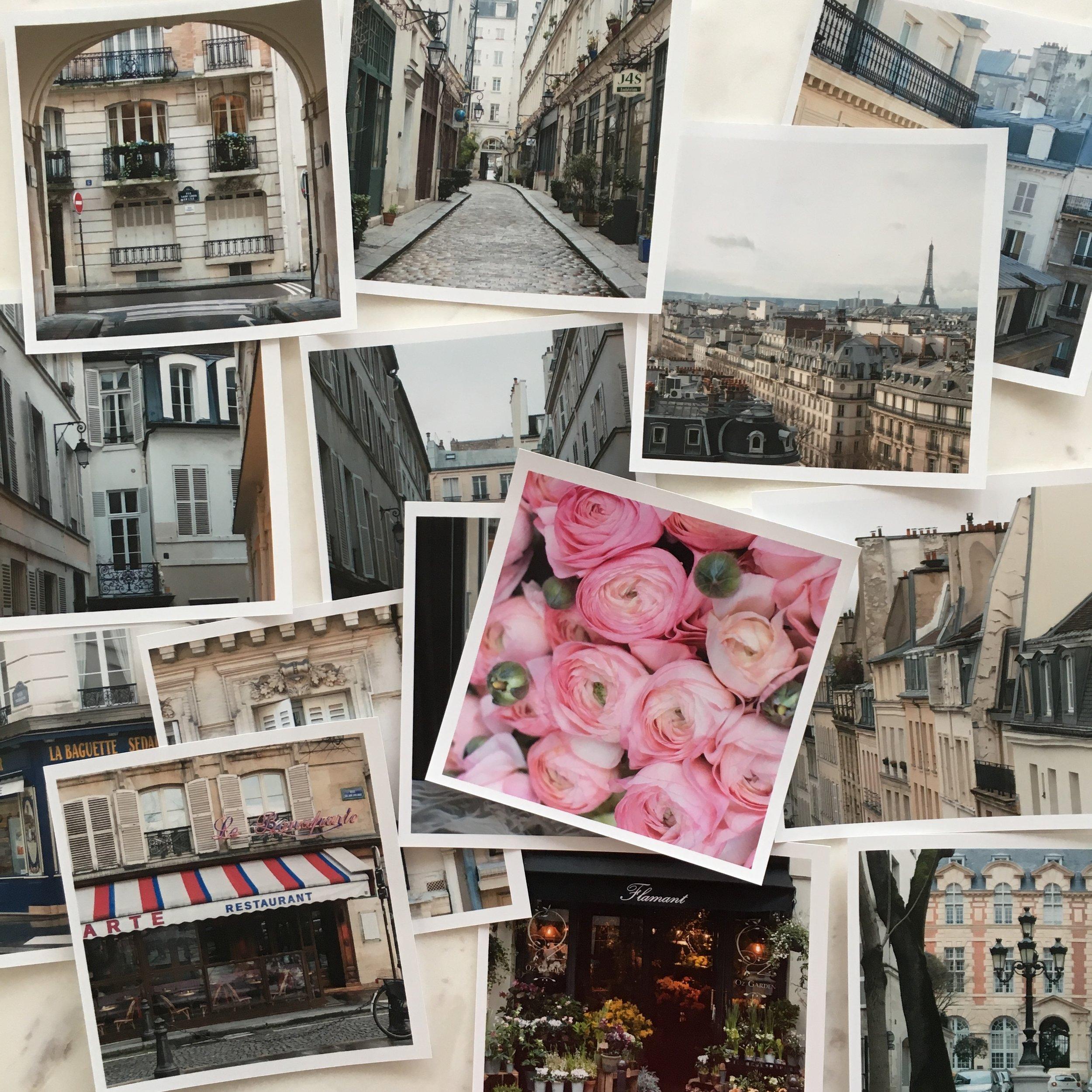 paris print collection