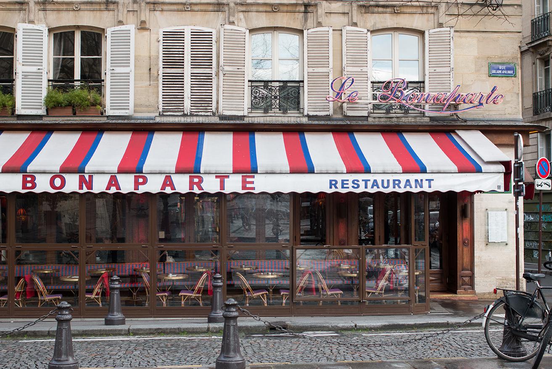 cafe bonaparte paris france