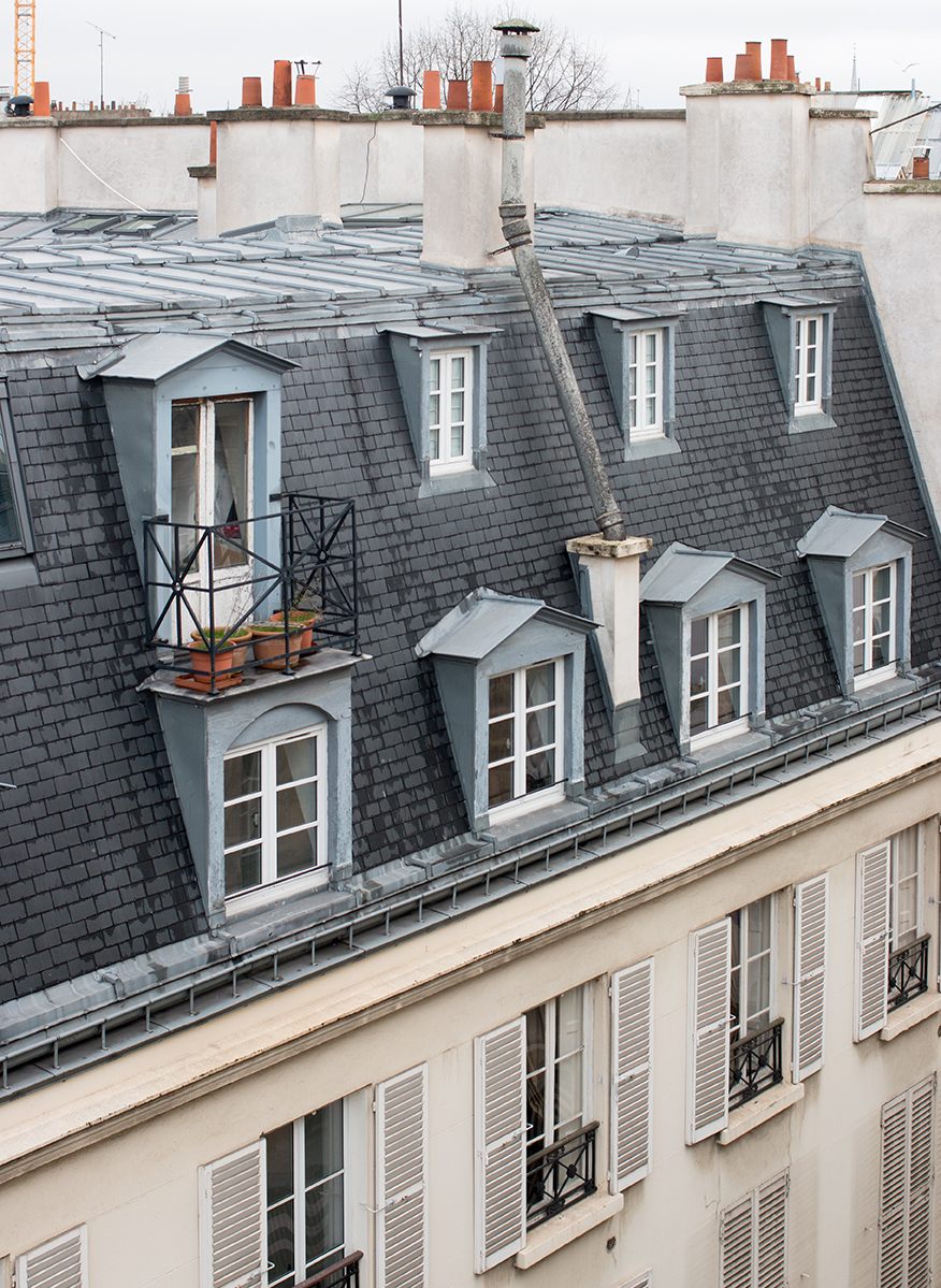 paris rooftop views rue jacob