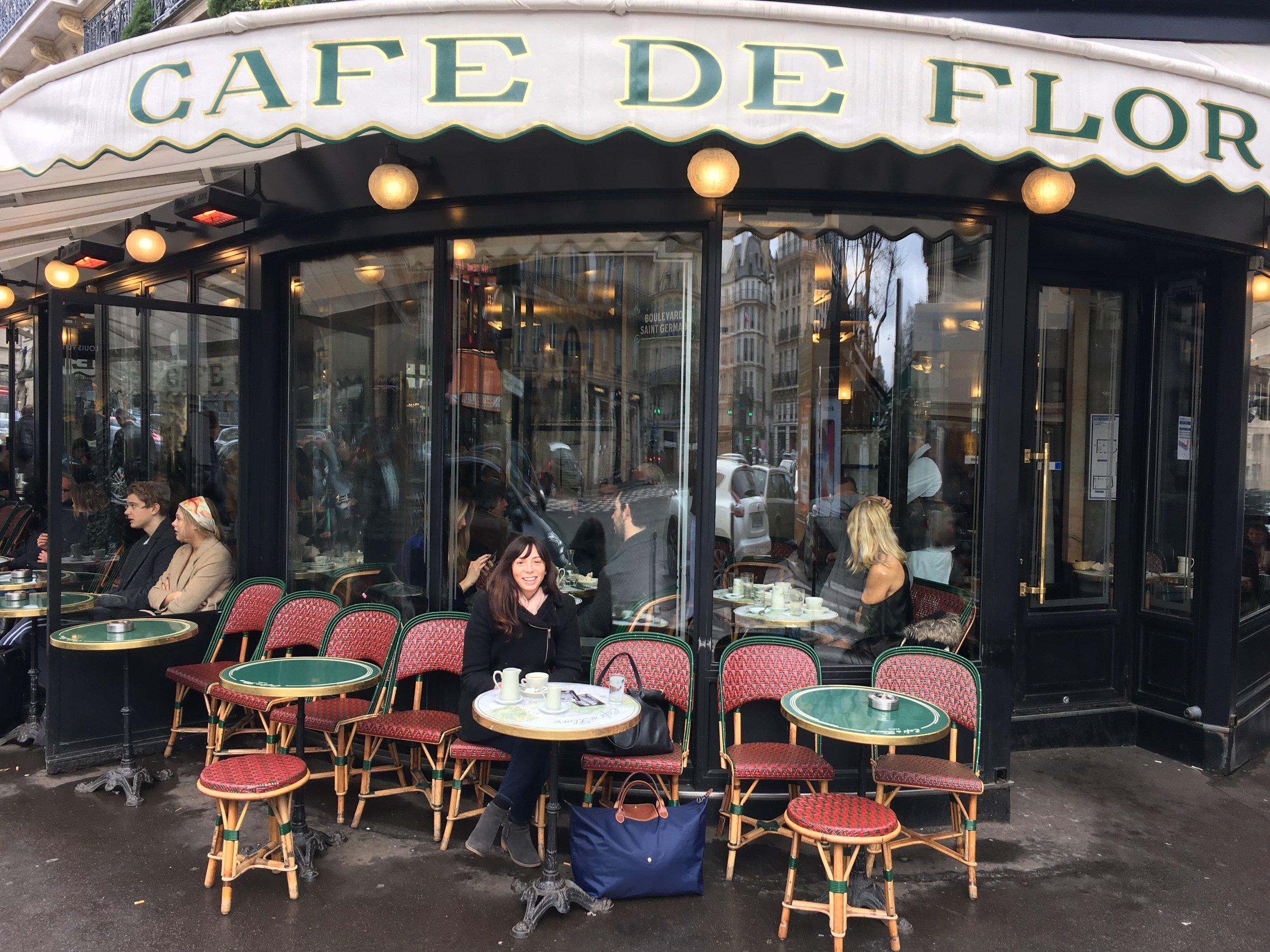 rebecca plotnick cafe de flore