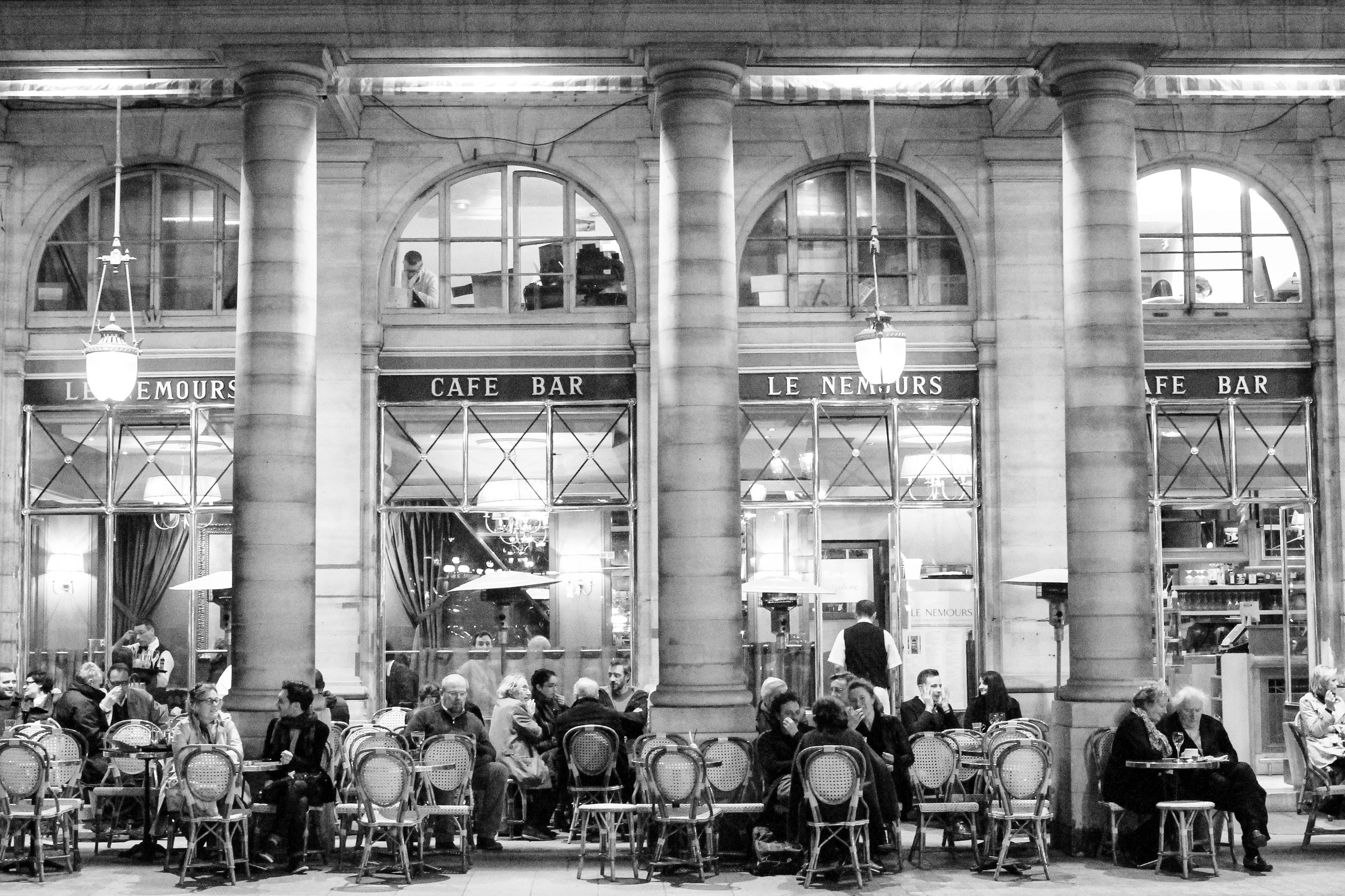 cafe nemours paris france