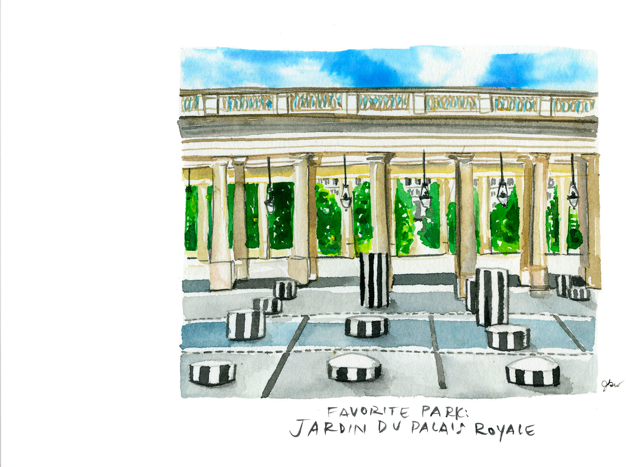 jardin de Palais Royal
