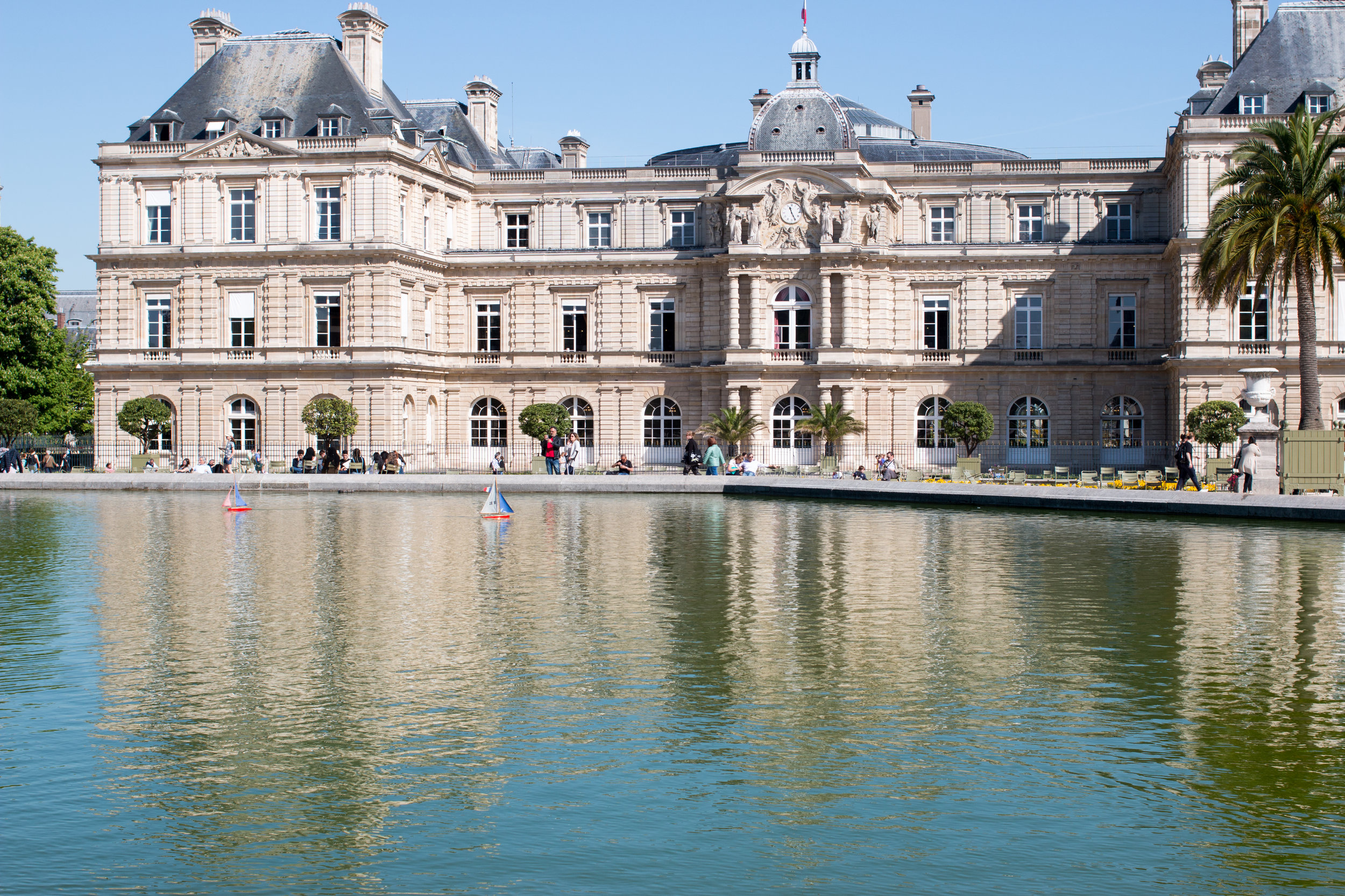 paris france luxembourg gardens