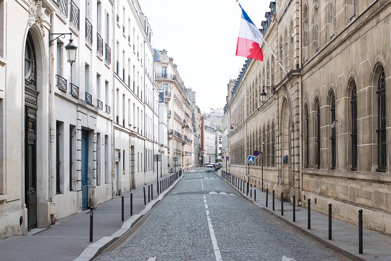 everyday parisian bastille day paris, france