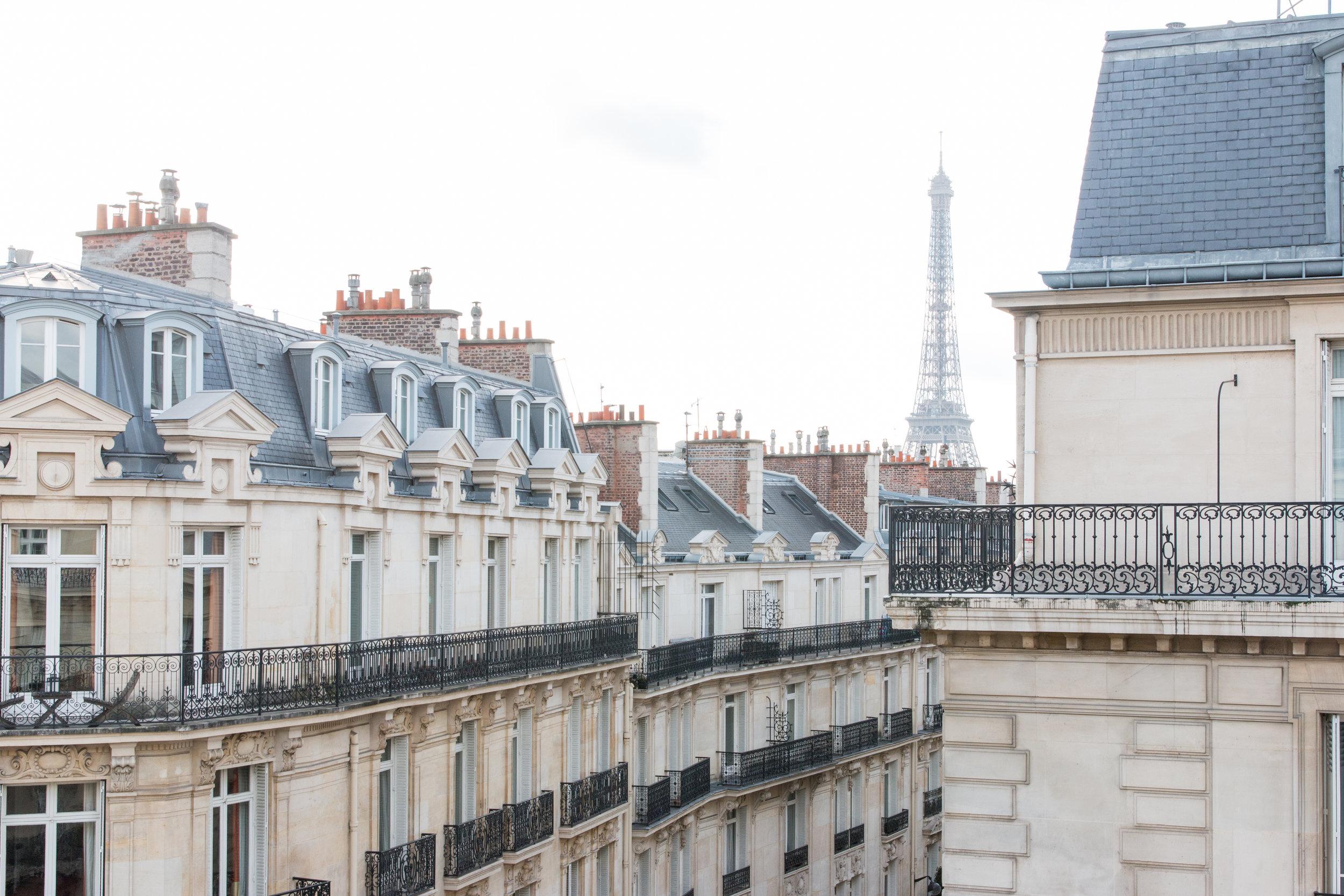 hotel grand powers views paris france boutique five star hotel