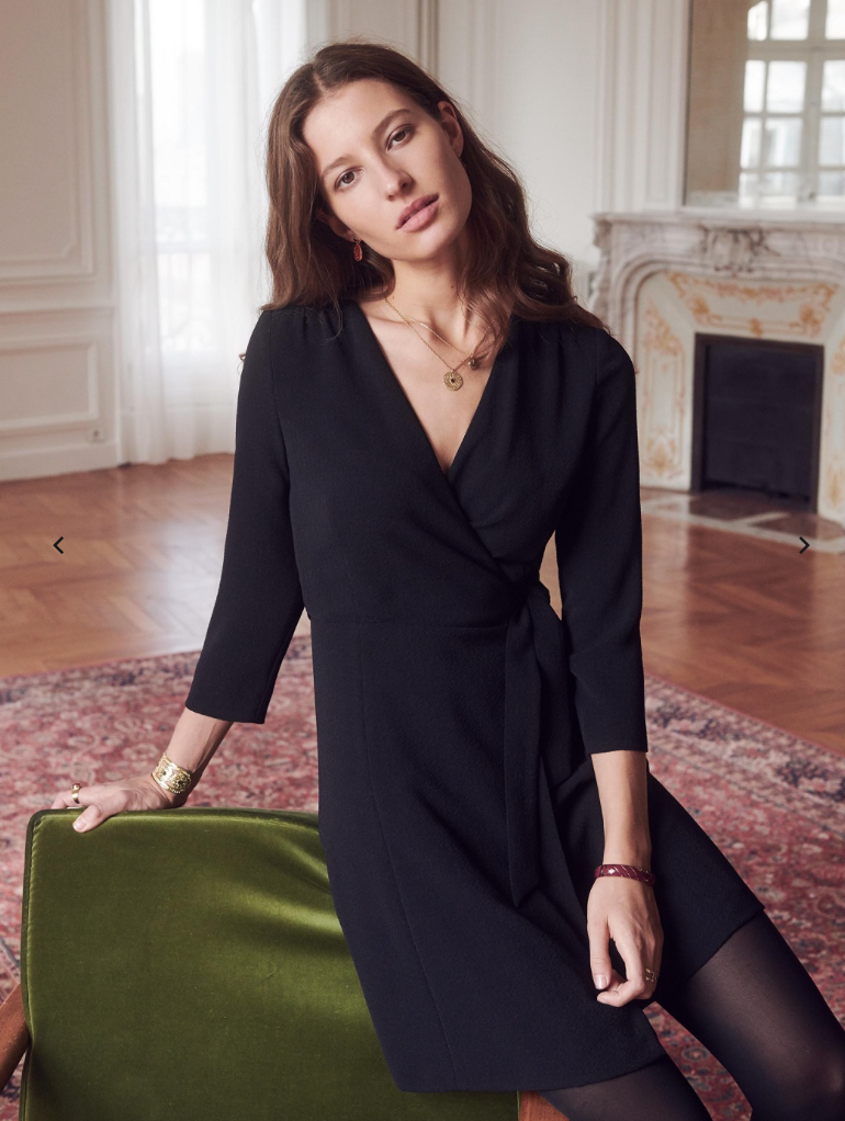 sezane autumn dress