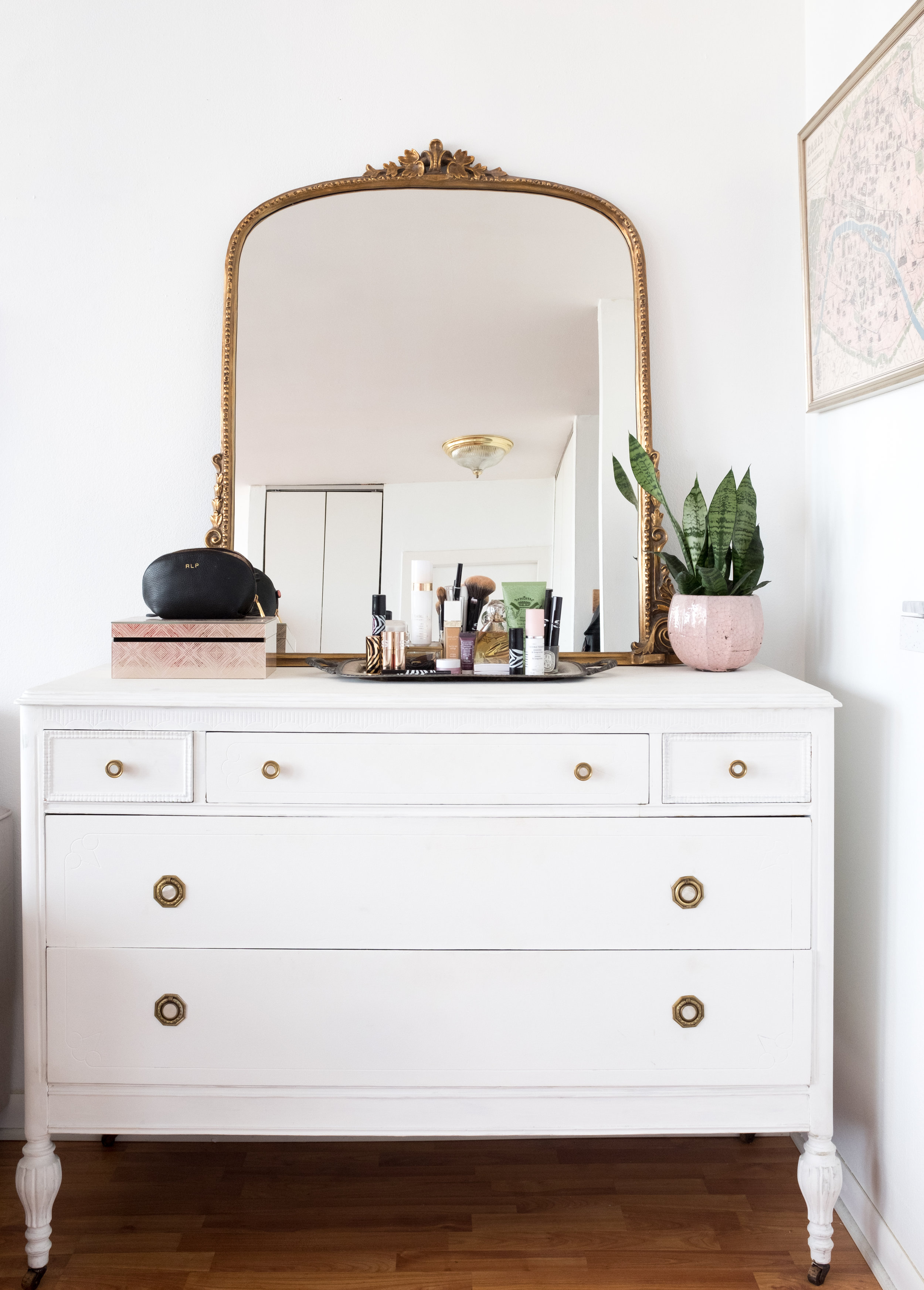 anthropologie mirror everyday parisian apartment