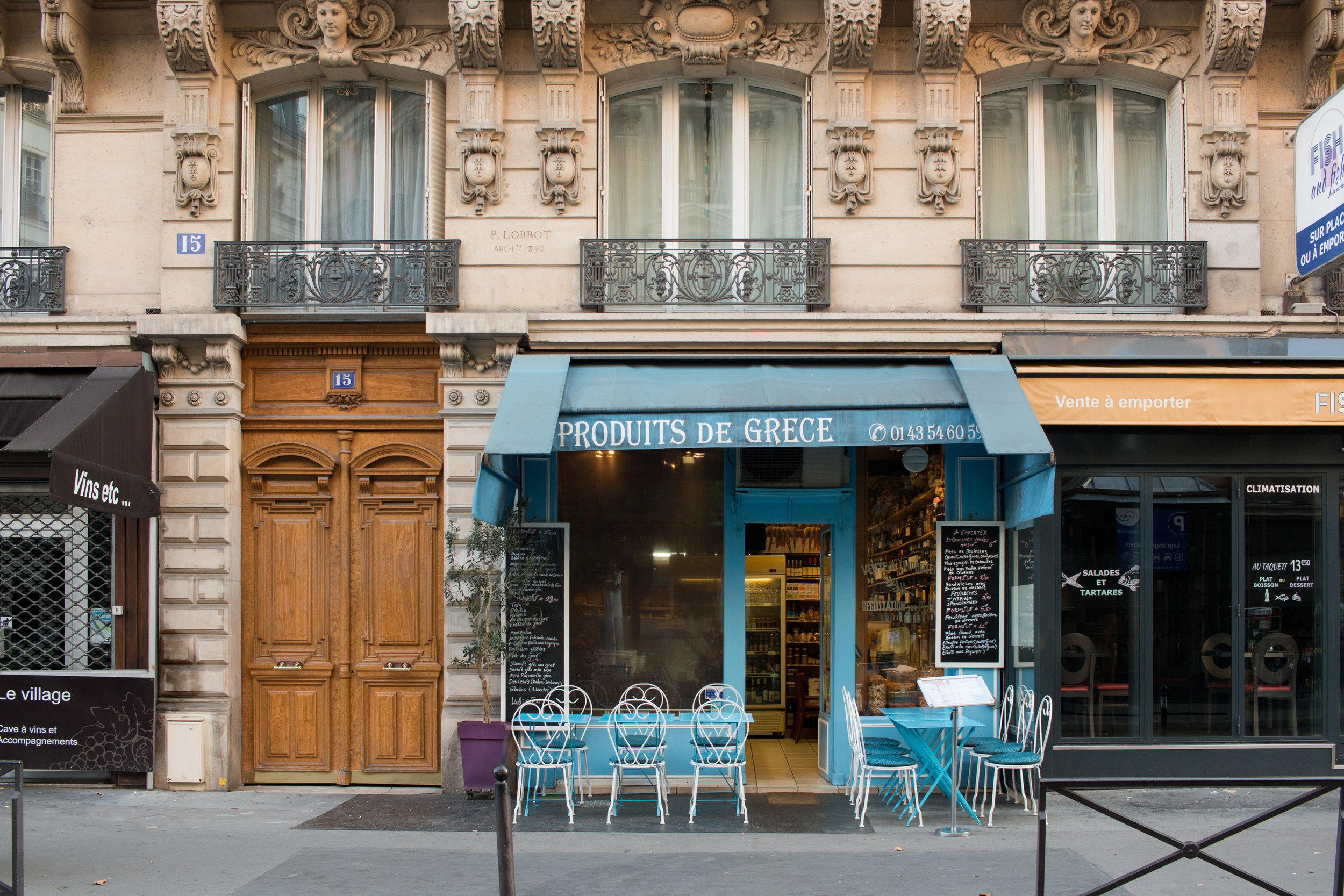 everyday parisian greek restaurant the paris diaries