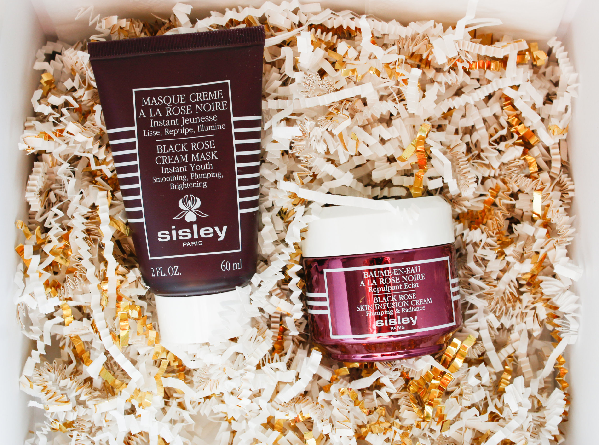 sisley paris rose mask and oil