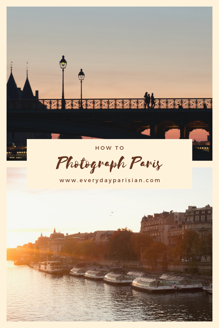 how to photograph paris