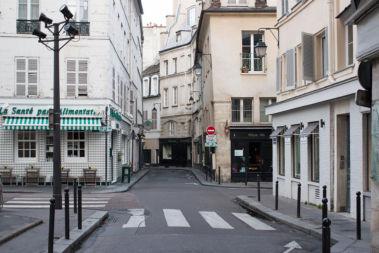 Shop Rue De L'Abbaye Paris Print Here