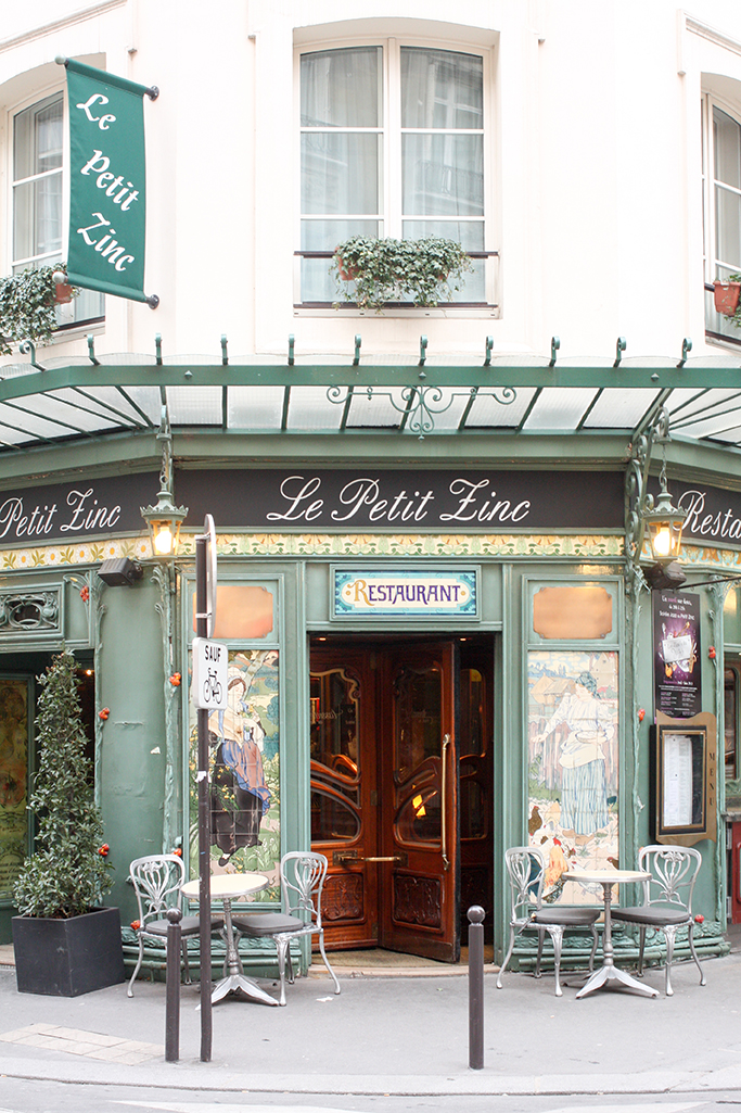 le petit zinc paris france by rebecca plotnick
