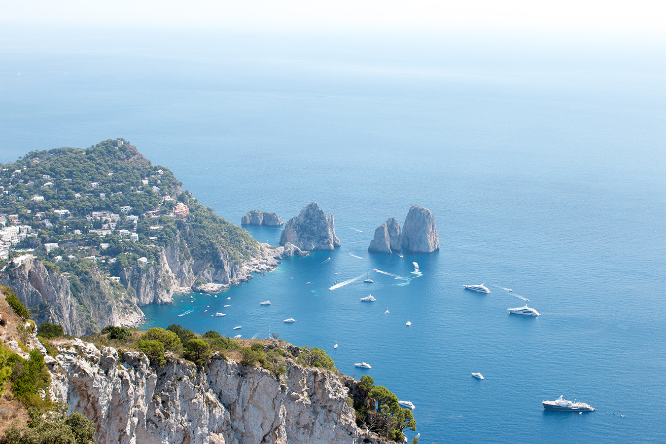 Faraglioni Rocks in Capri, Italy Shop HERE