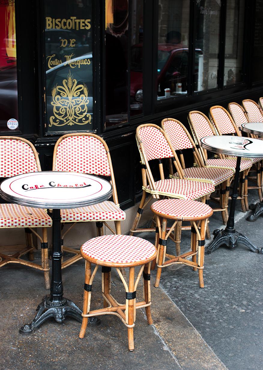 Shop Afternoon at Café Charlot Print Here