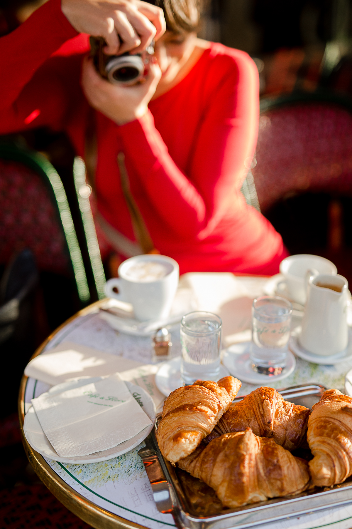 katie donnelly for everyday parisian paris france cafe de flore