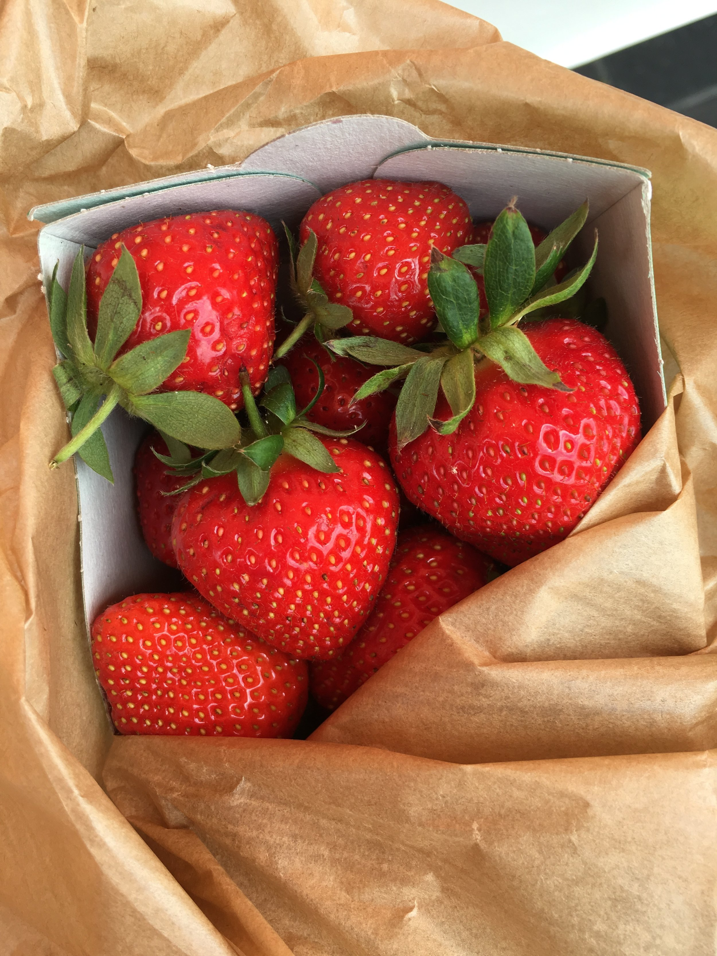 strawberries in nice france everyday parisian summer in the south of france