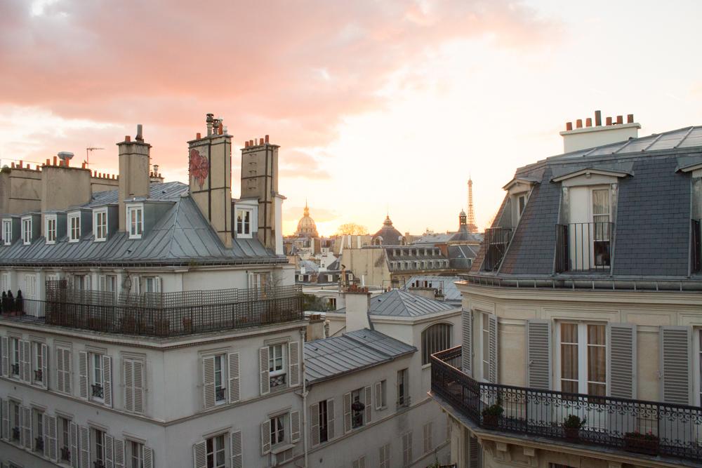 Shop Sunset in St Germain des Prés Here
