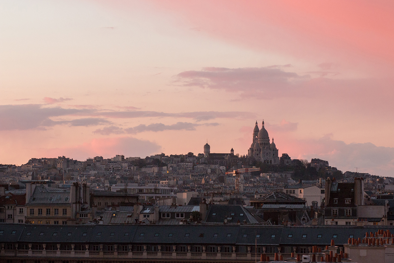 Shop Montmartre Sunset View Print Here