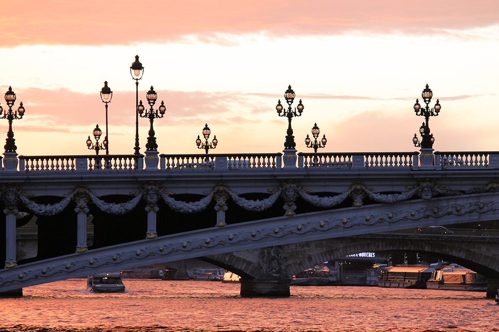 Shop The Print Sunset on Pont Alexandre iii Here