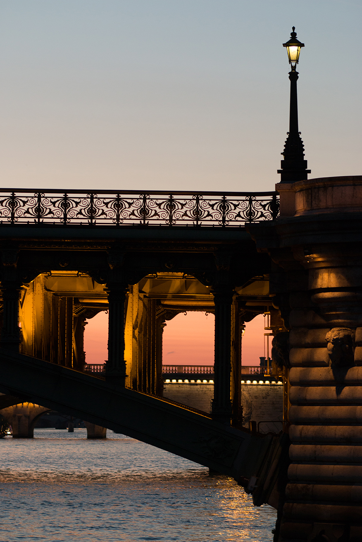 Shop Sunset Strolls on the Seine Print Here