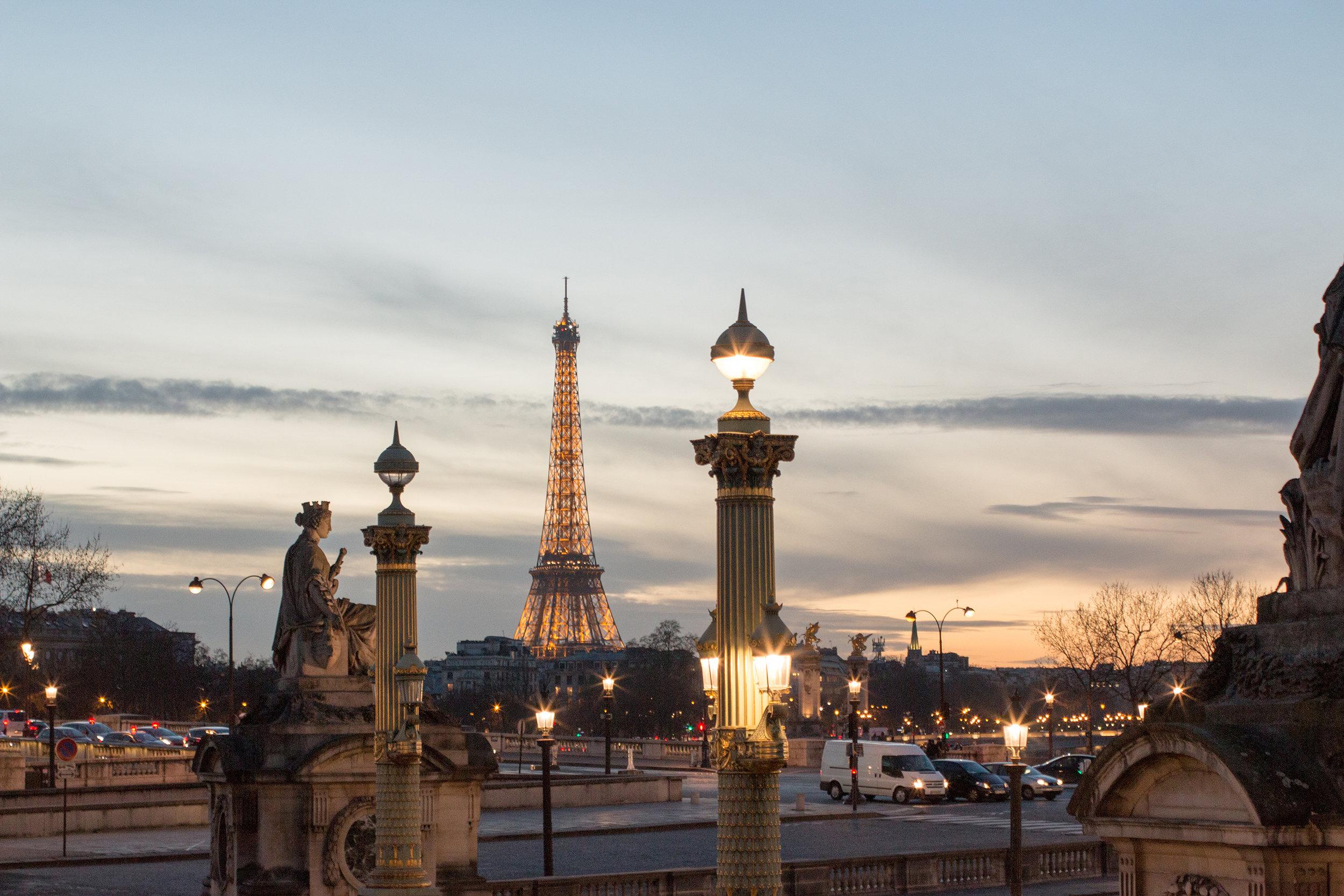 Shop Sunset at Place de la Concorde Print Here