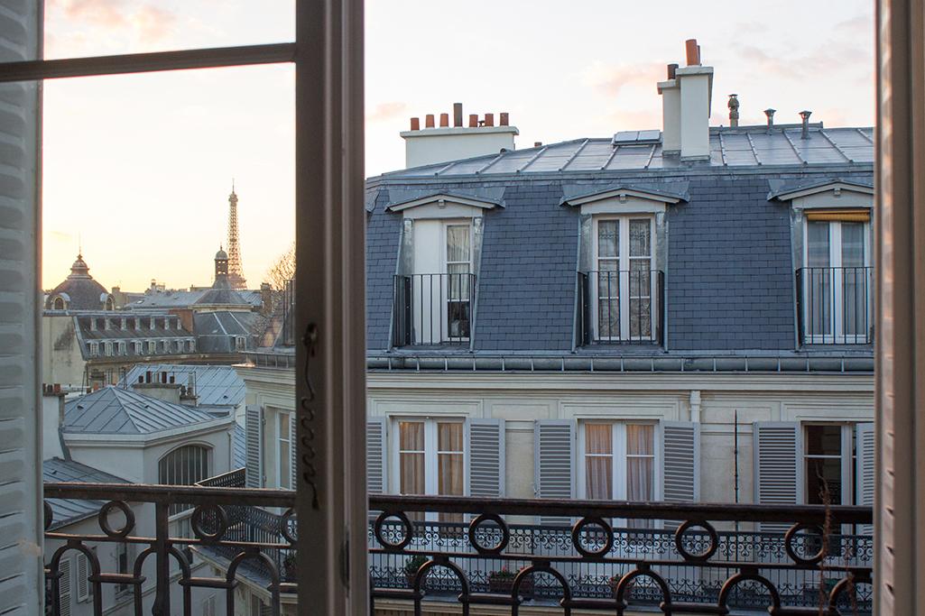 Shop Window onto St Germain des Prés Print Here