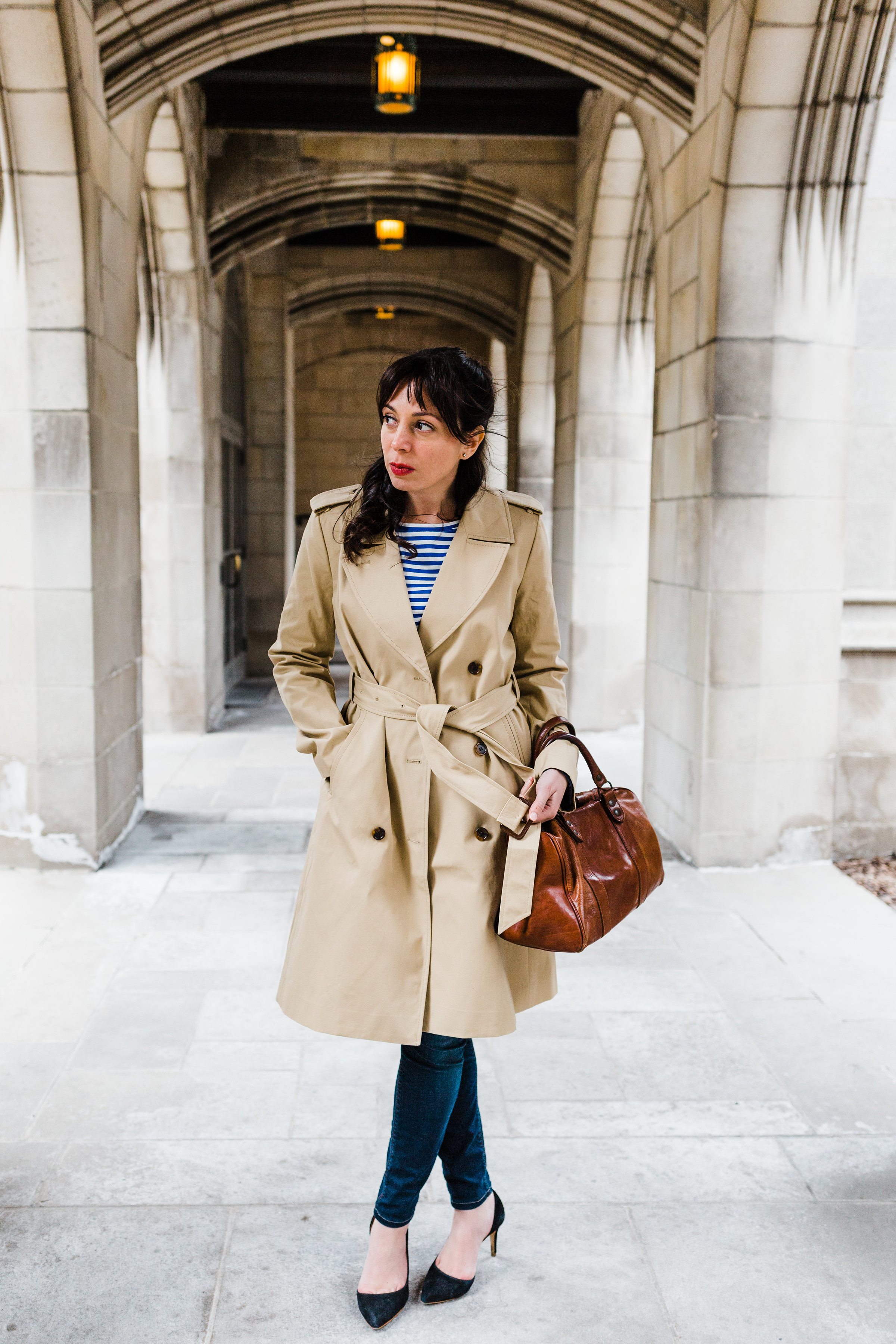 Trench by JCrew