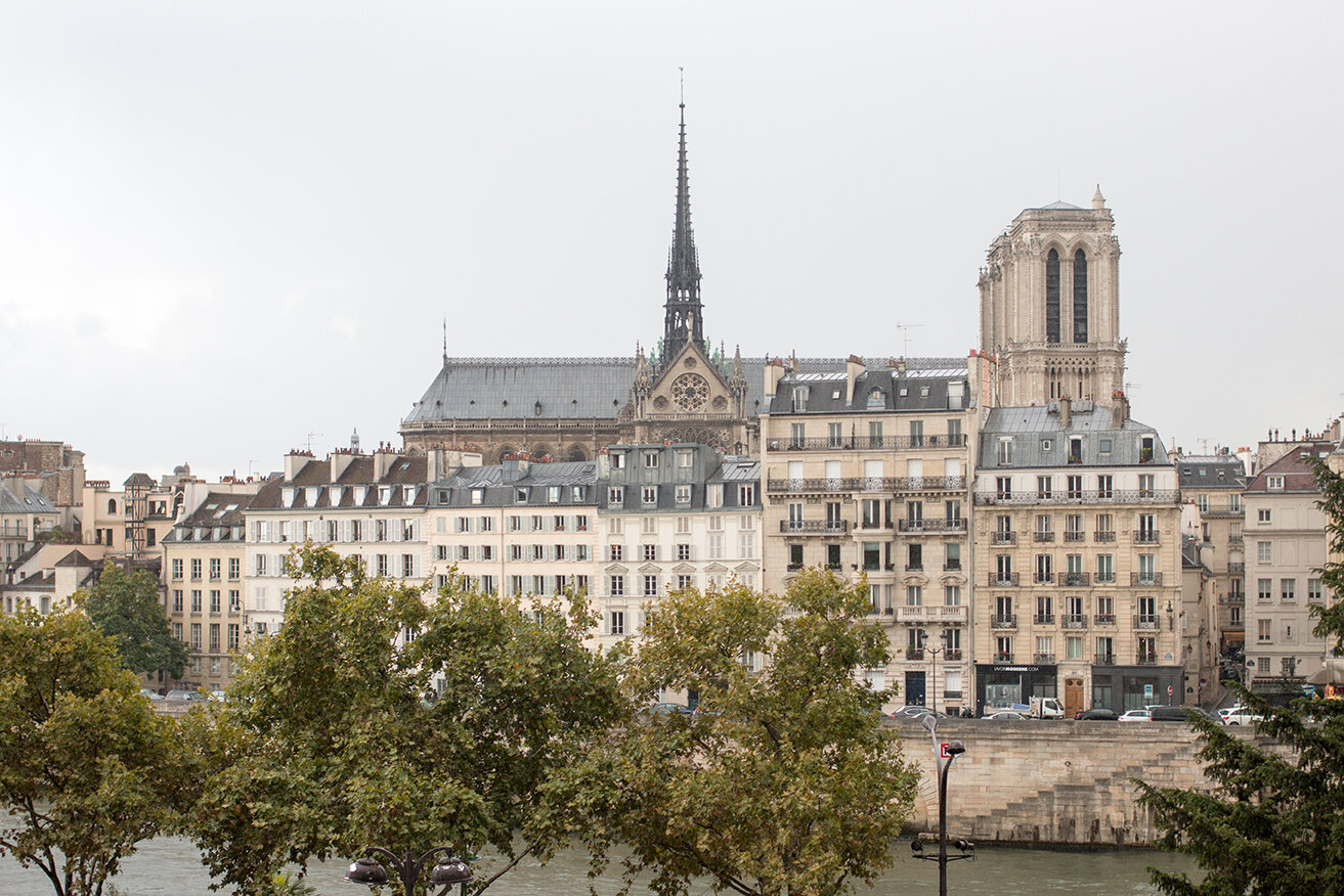 Shop Notre Dame Landscape Photo Here