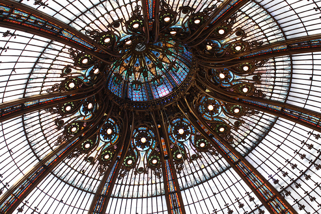 Shop Galleries Lafayette Stained Glass Ceiling Print Here