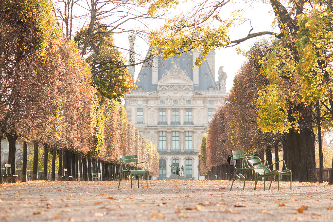 Shop Fall in The Tuileries Print Here
