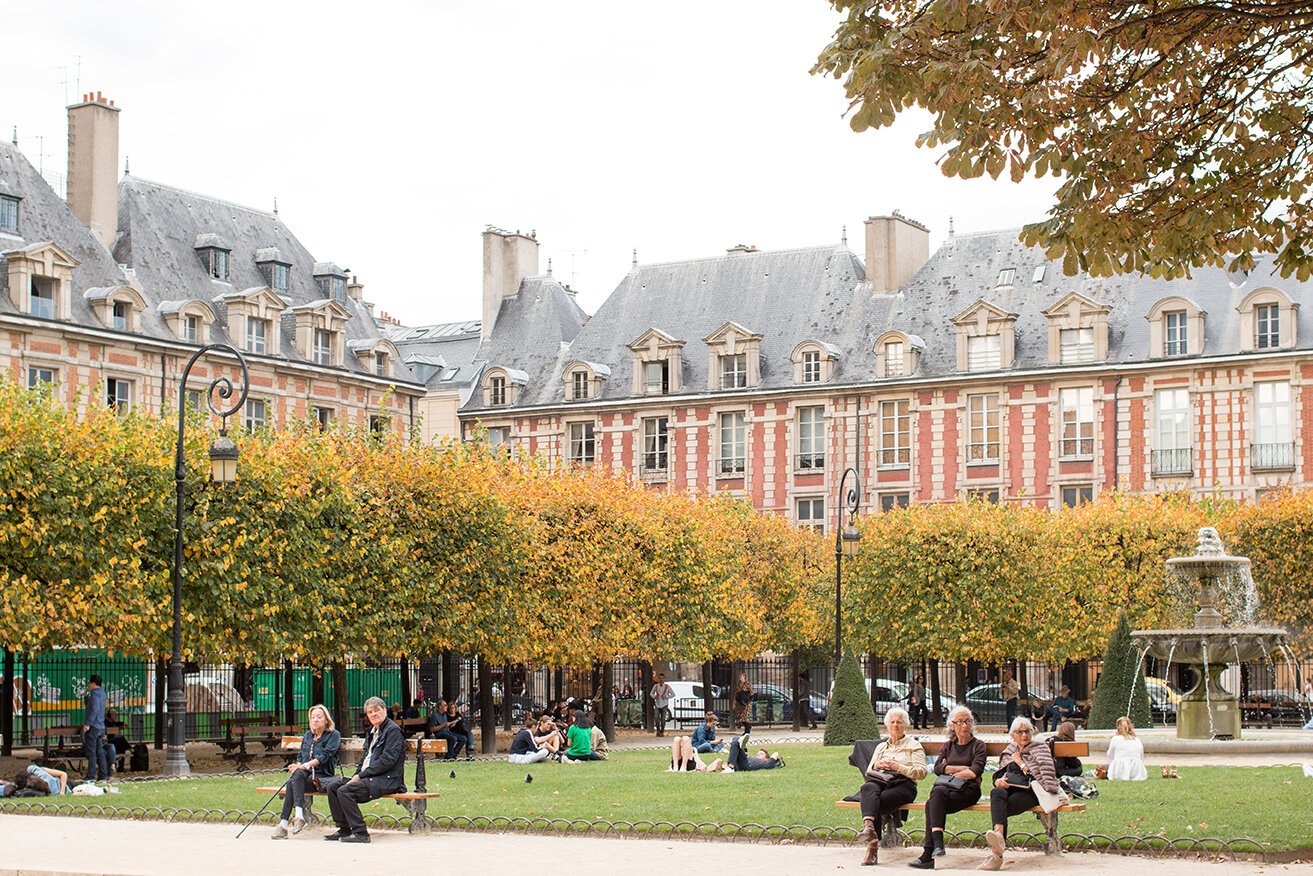 Shop Fall in Place des Vosges Print Here