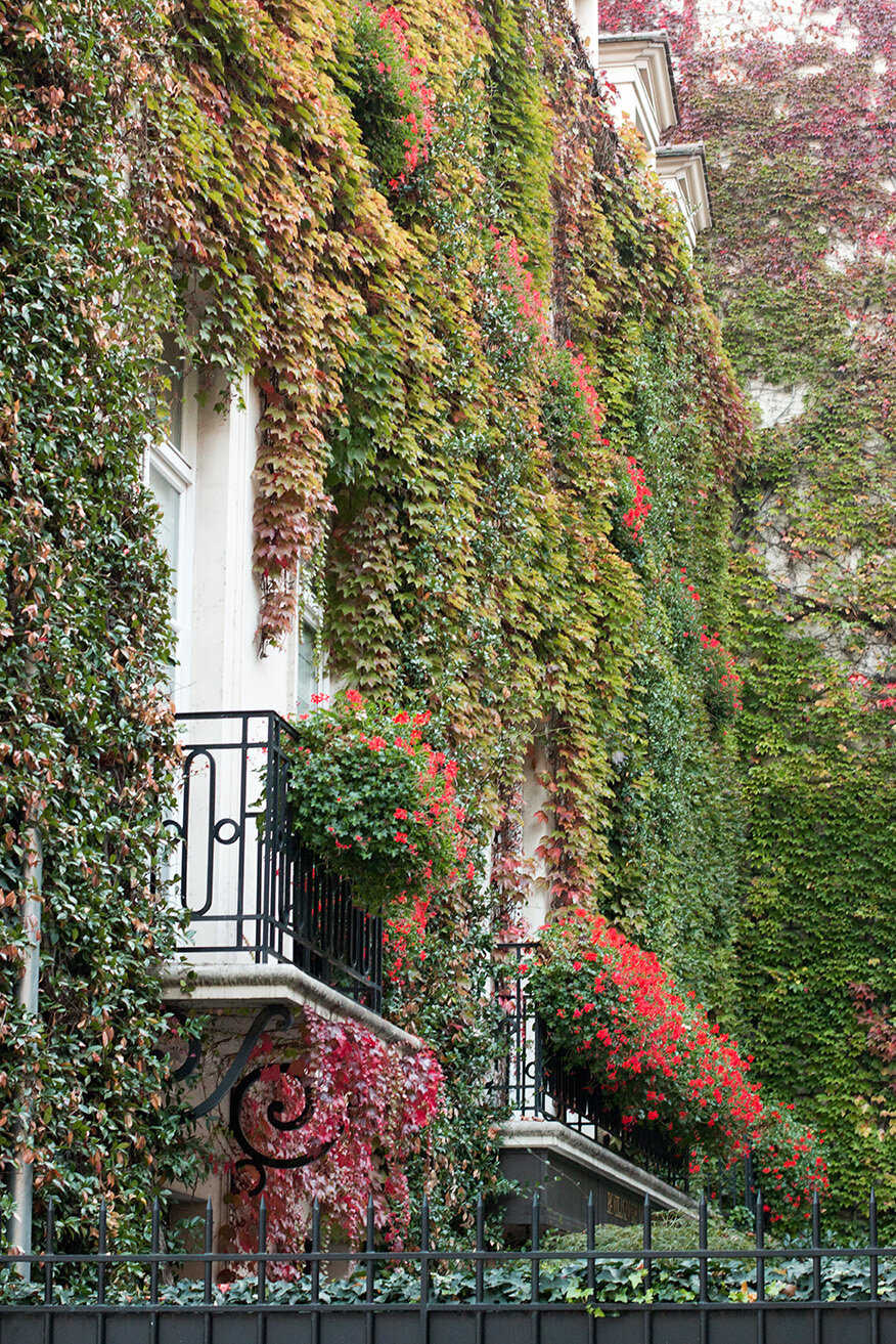 Shop Fall Balcony in the Marais Print Here