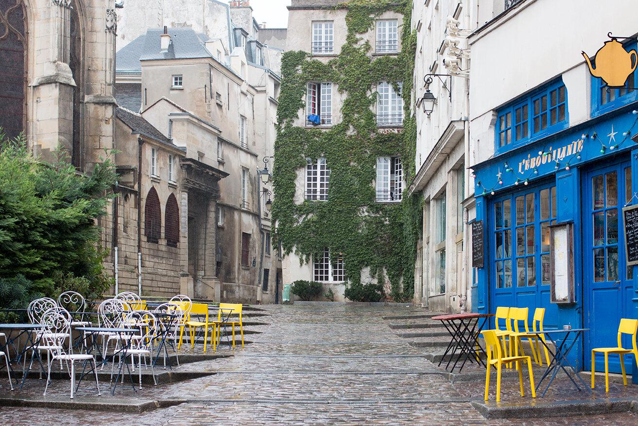 Shop Rainy Day in the Marais Print Here
