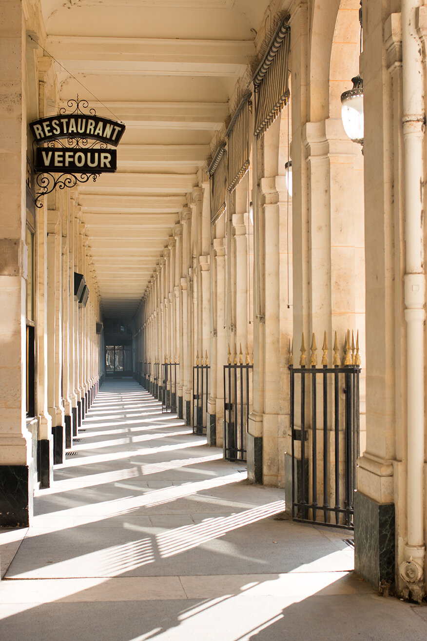 Shop Palais Royal Fall Light Paris Print Here