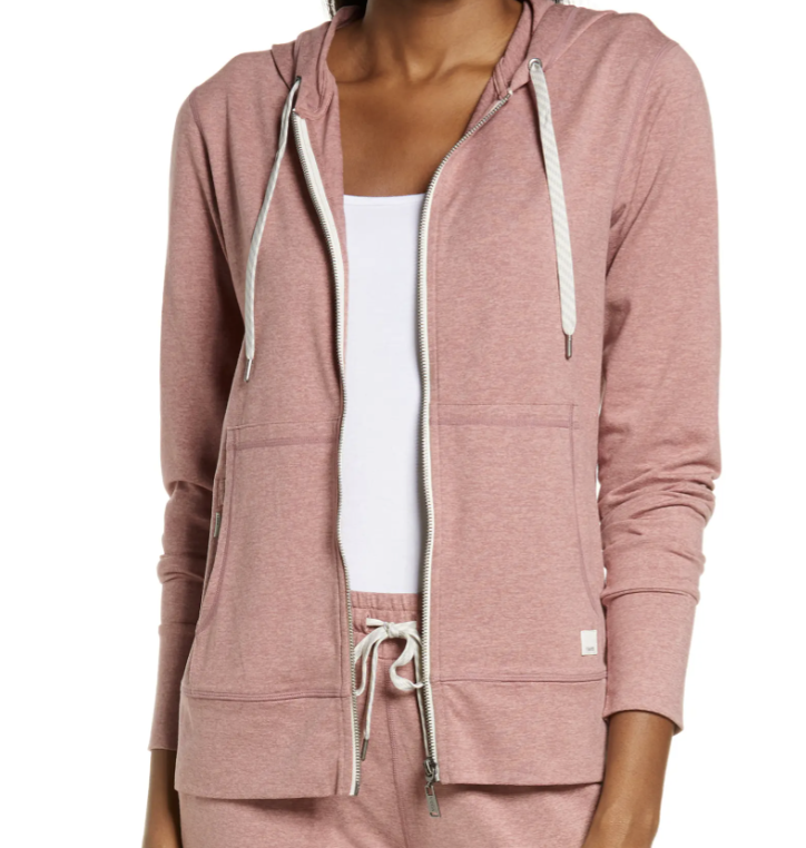 vuori pink zip up sweatshirt what you loved most in march everyday parisian