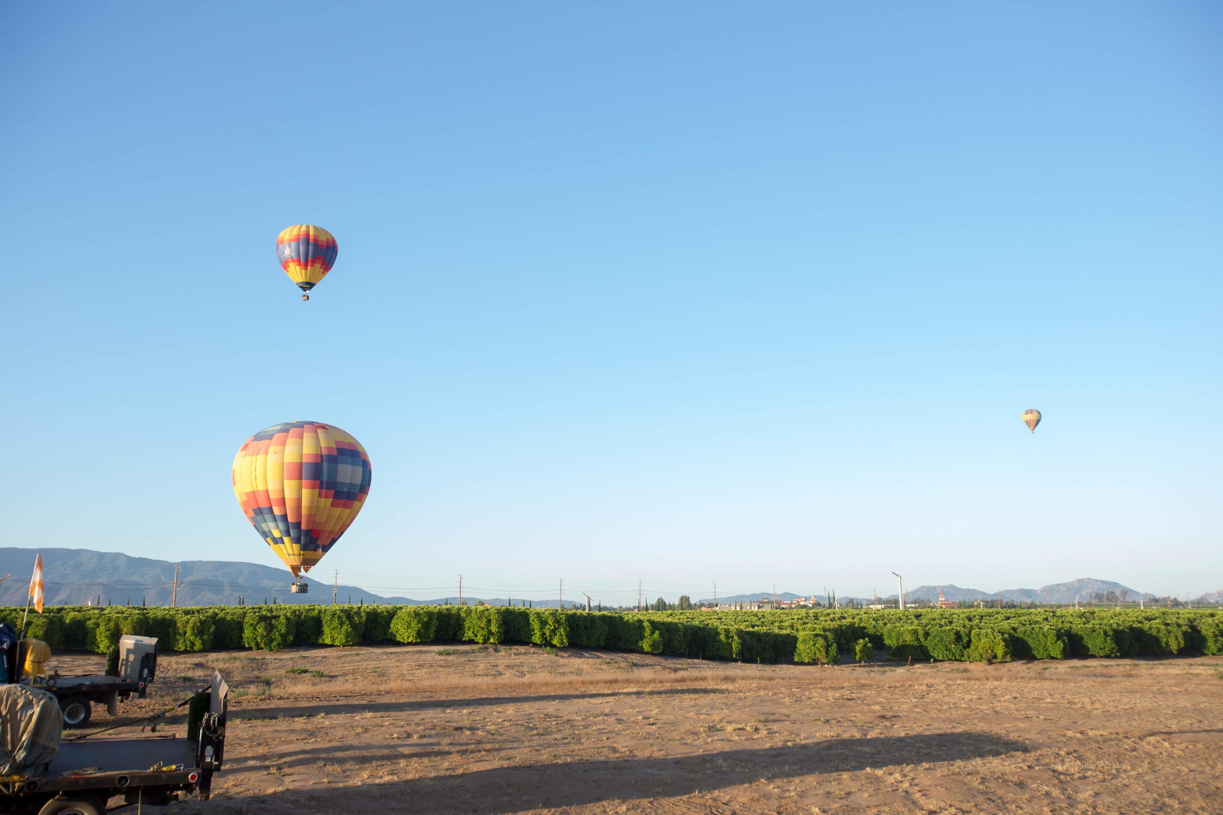 san diego hot air balloon tour