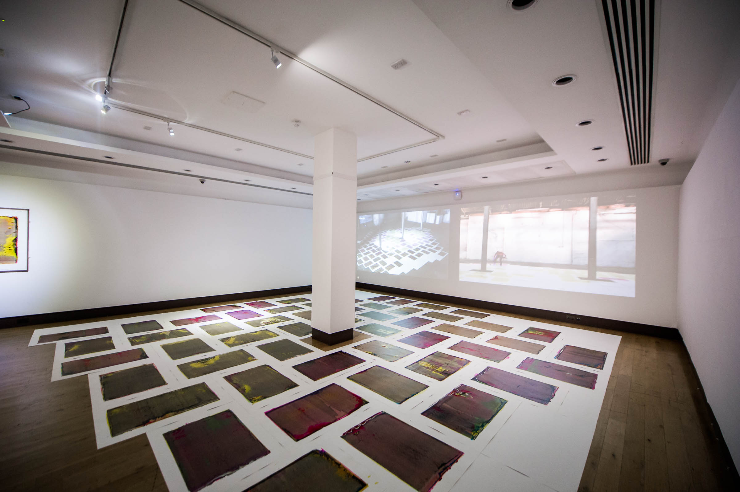 Performance Publishing: Excelsior Works (2015), Installation view at 'Multiplied', Christies