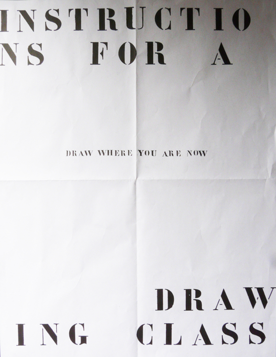 Instructions for a Drawing Class (2009)