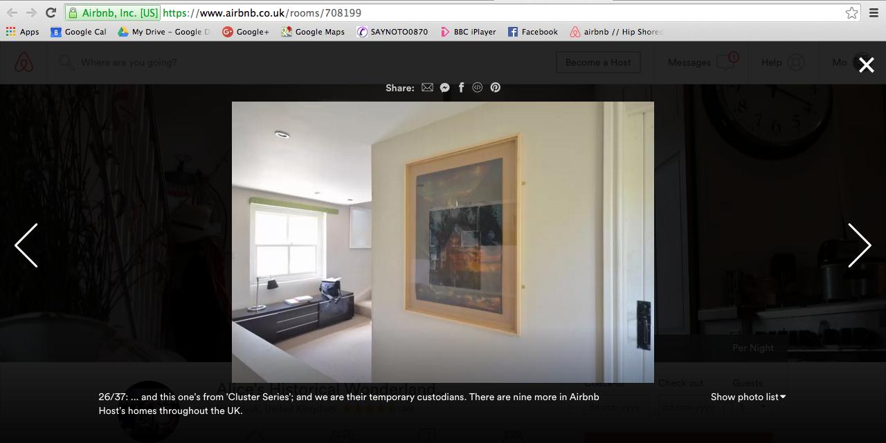 Temporary Custodians (Airbnb) (2015 - 2017)