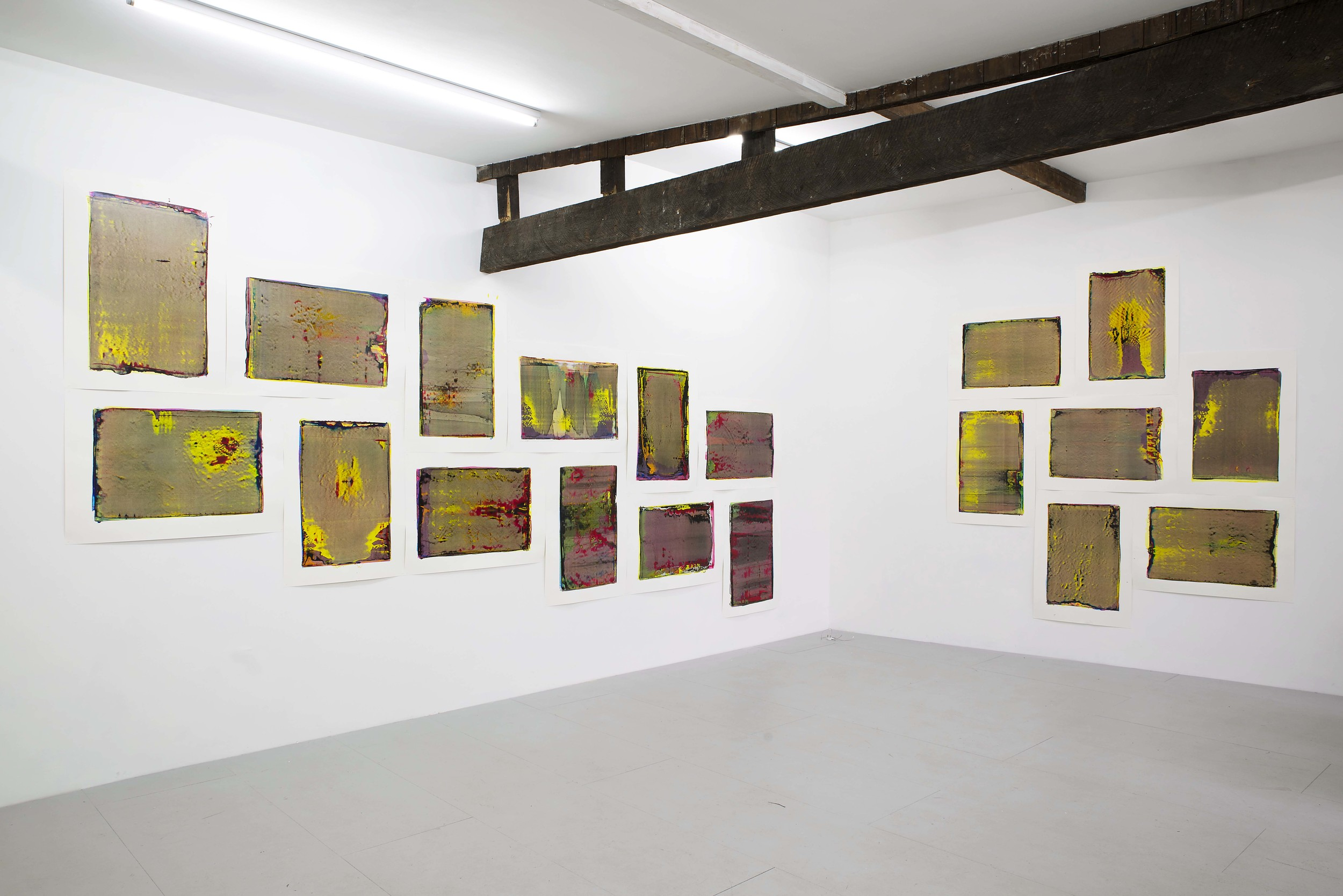 Performance Publishing: Excelsior Works (2015), Installation view.