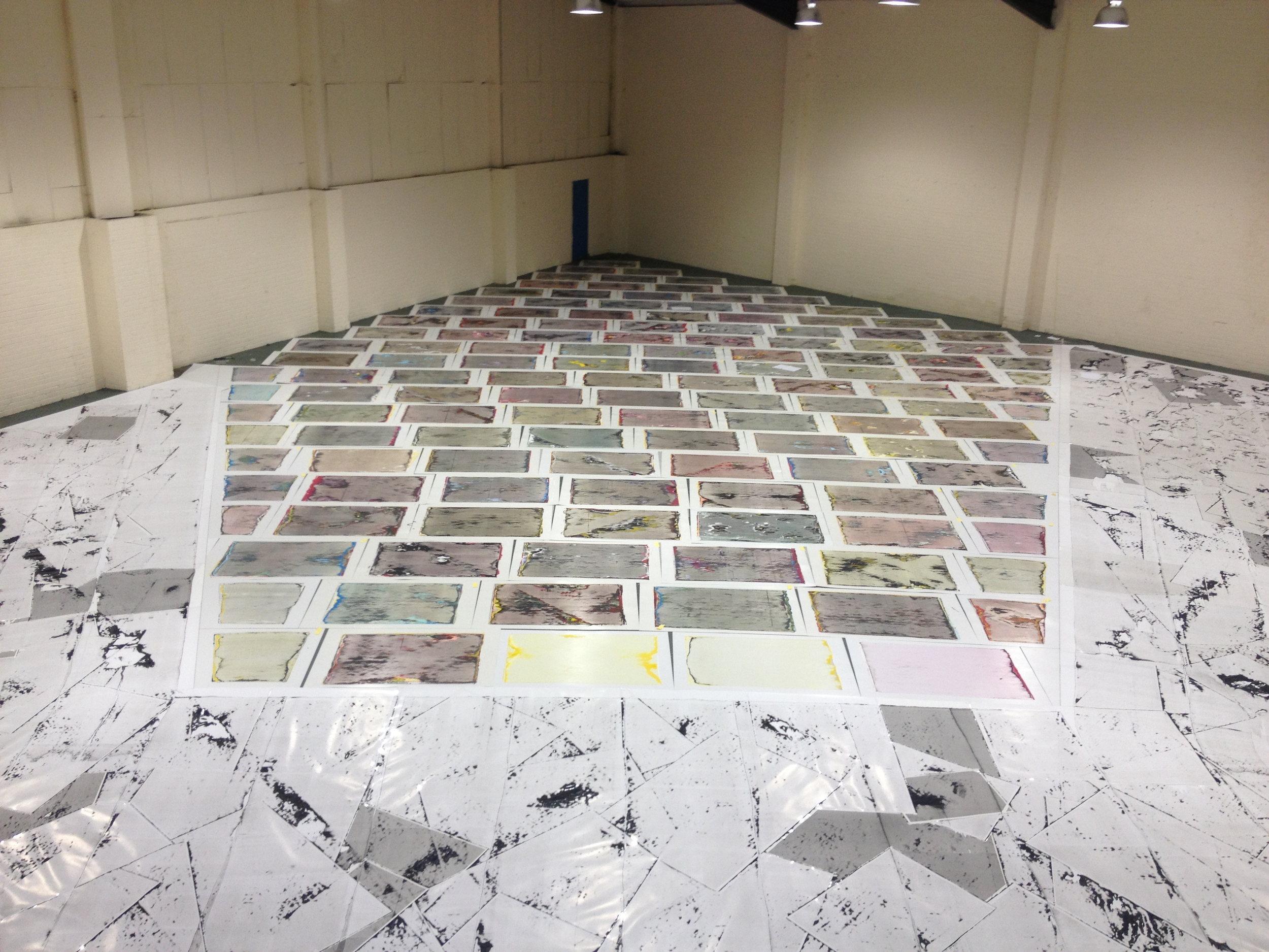 Performance Publishing: Regent Trading Estate (2013), Installation view