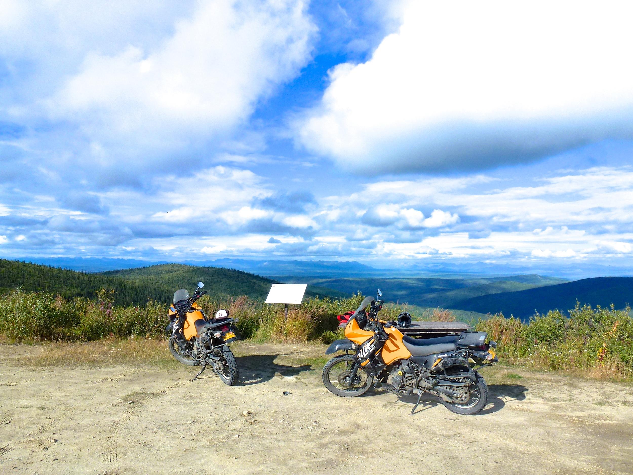 KLR650 Ride