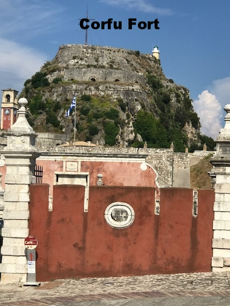 Corfu -  Old Fort