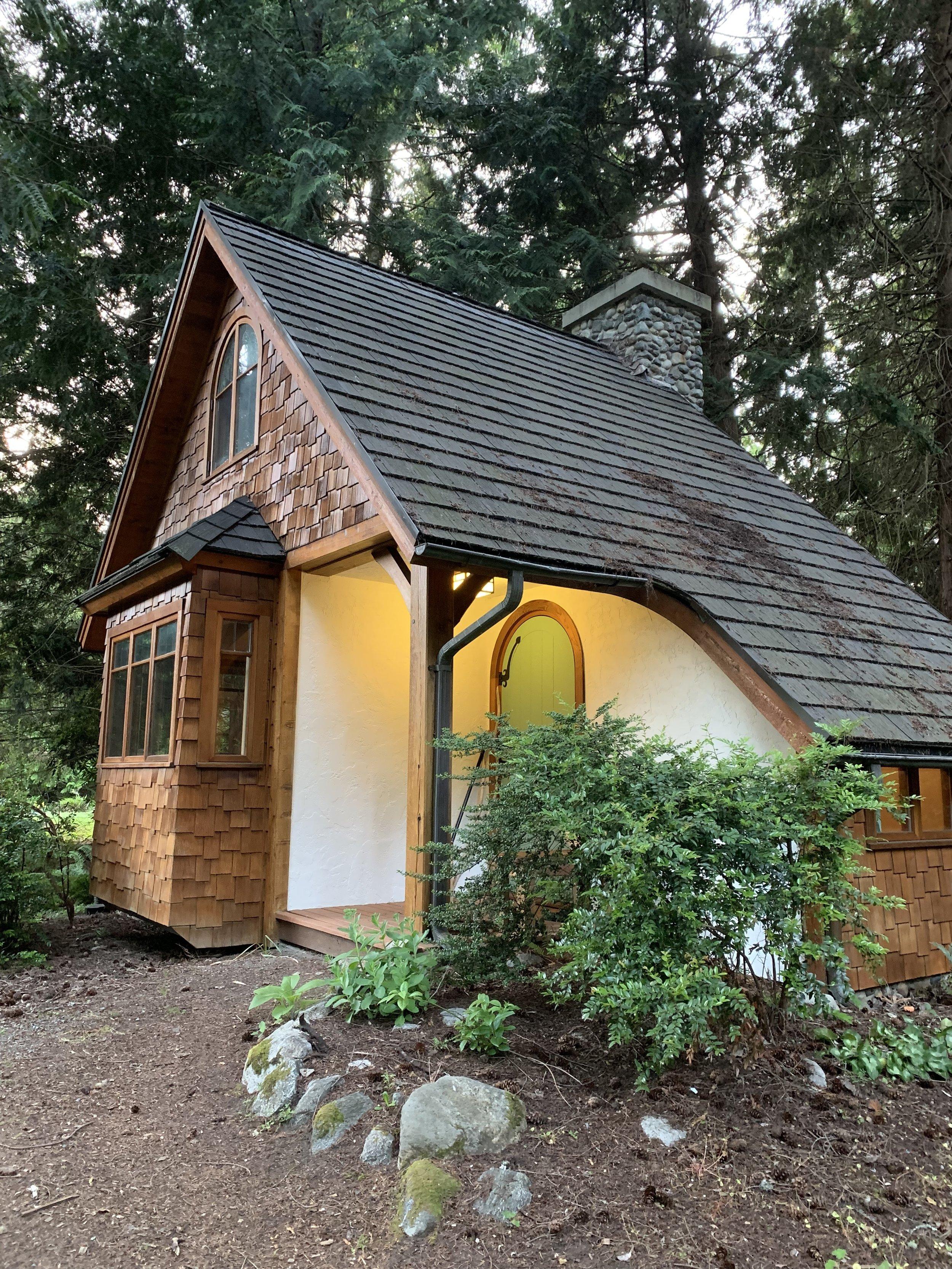 "My cottage, aptly named 'Oak"""