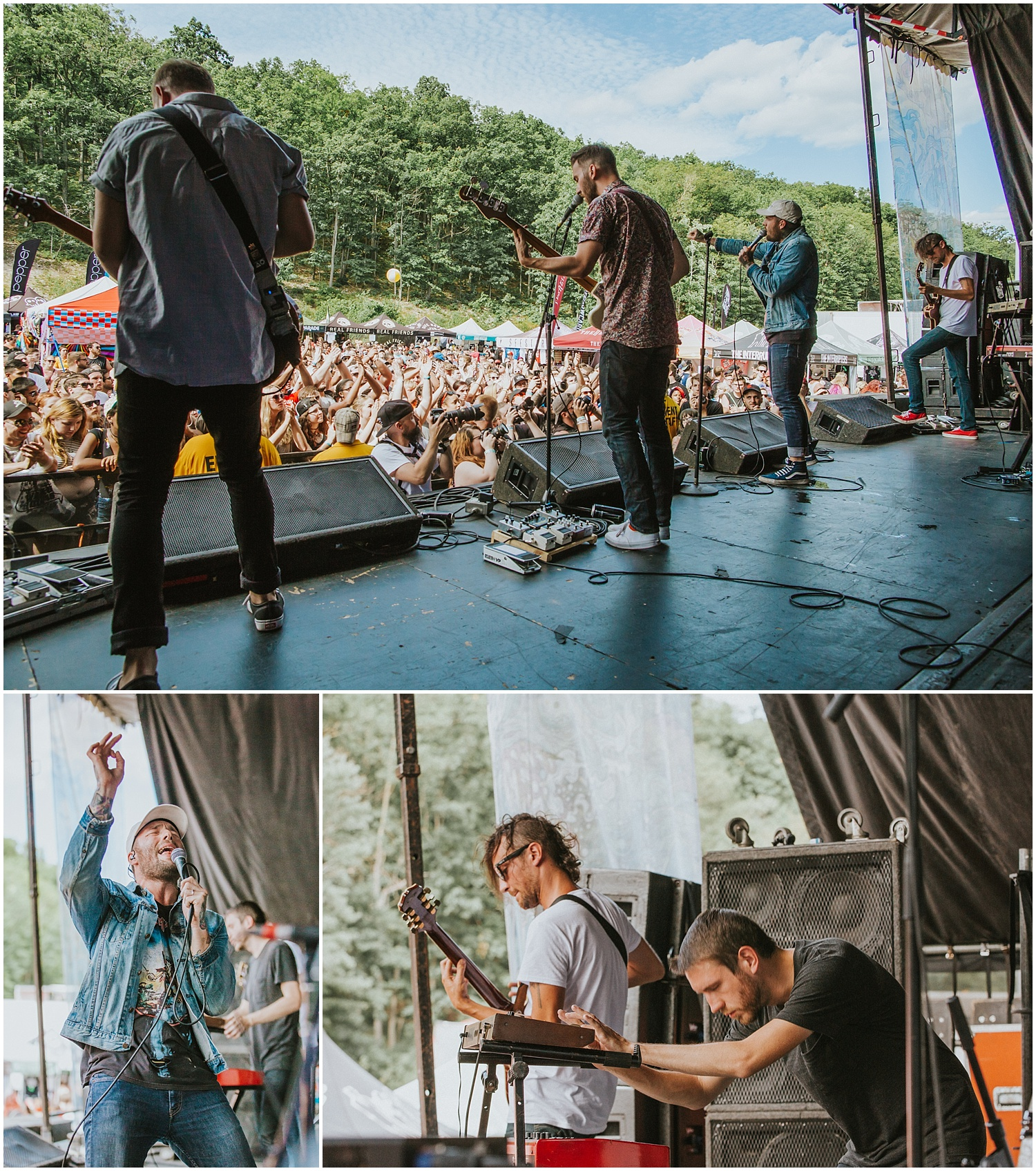 Emarosa | Warped Tour, Scranton PA | July 11, 2016