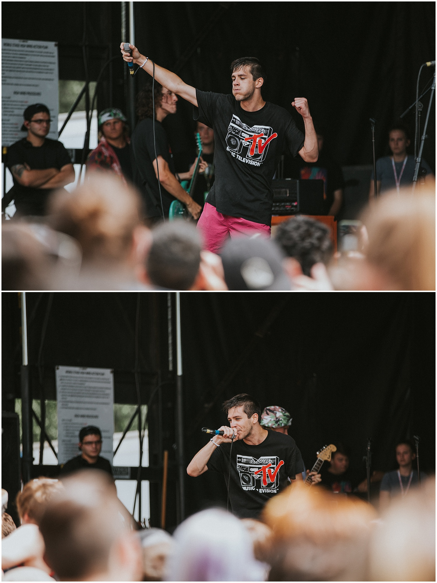 Knuckle Puck | Warped Tour, Scranton PA | July 11, 2016