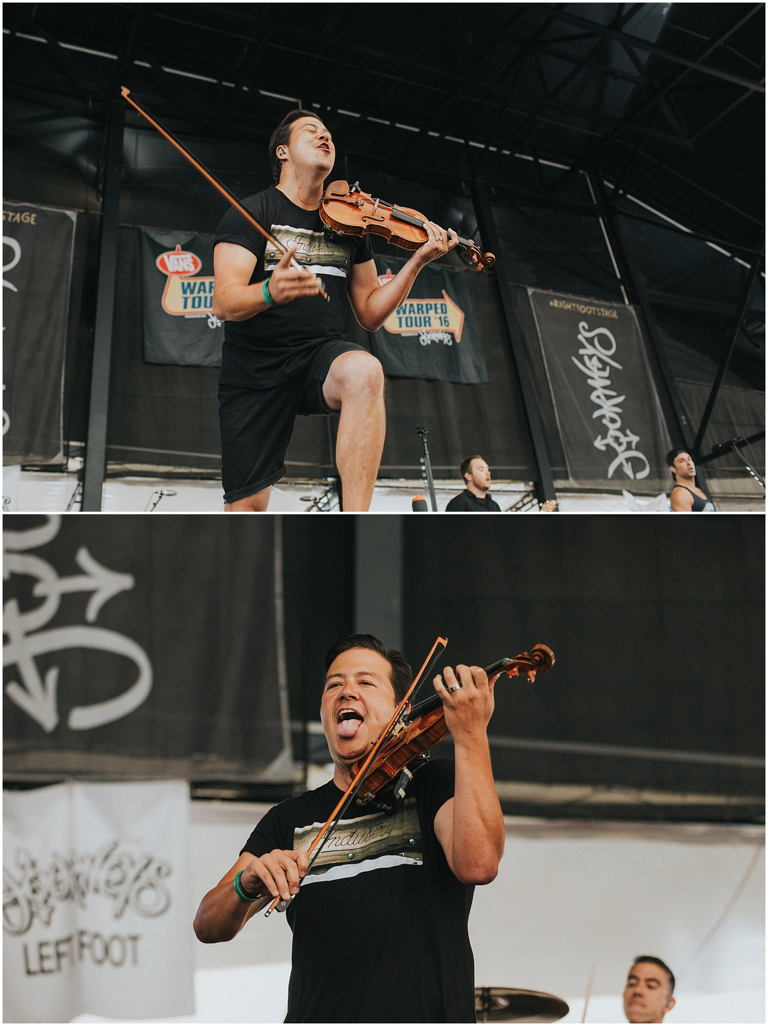 Yellowcard | Warped Tour, Scranton PA | July 11, 2016