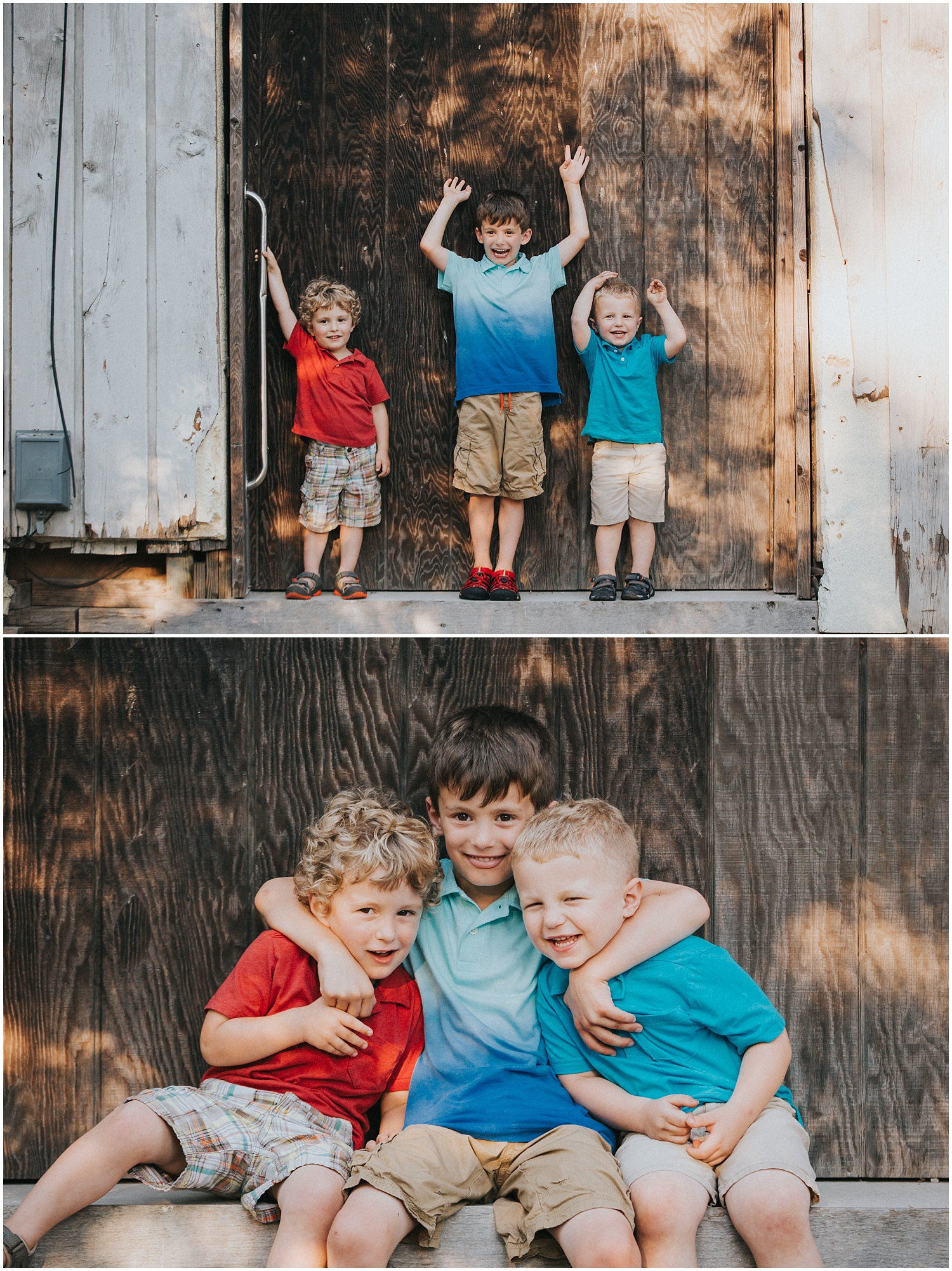 Saint (St) Peter's Village family session