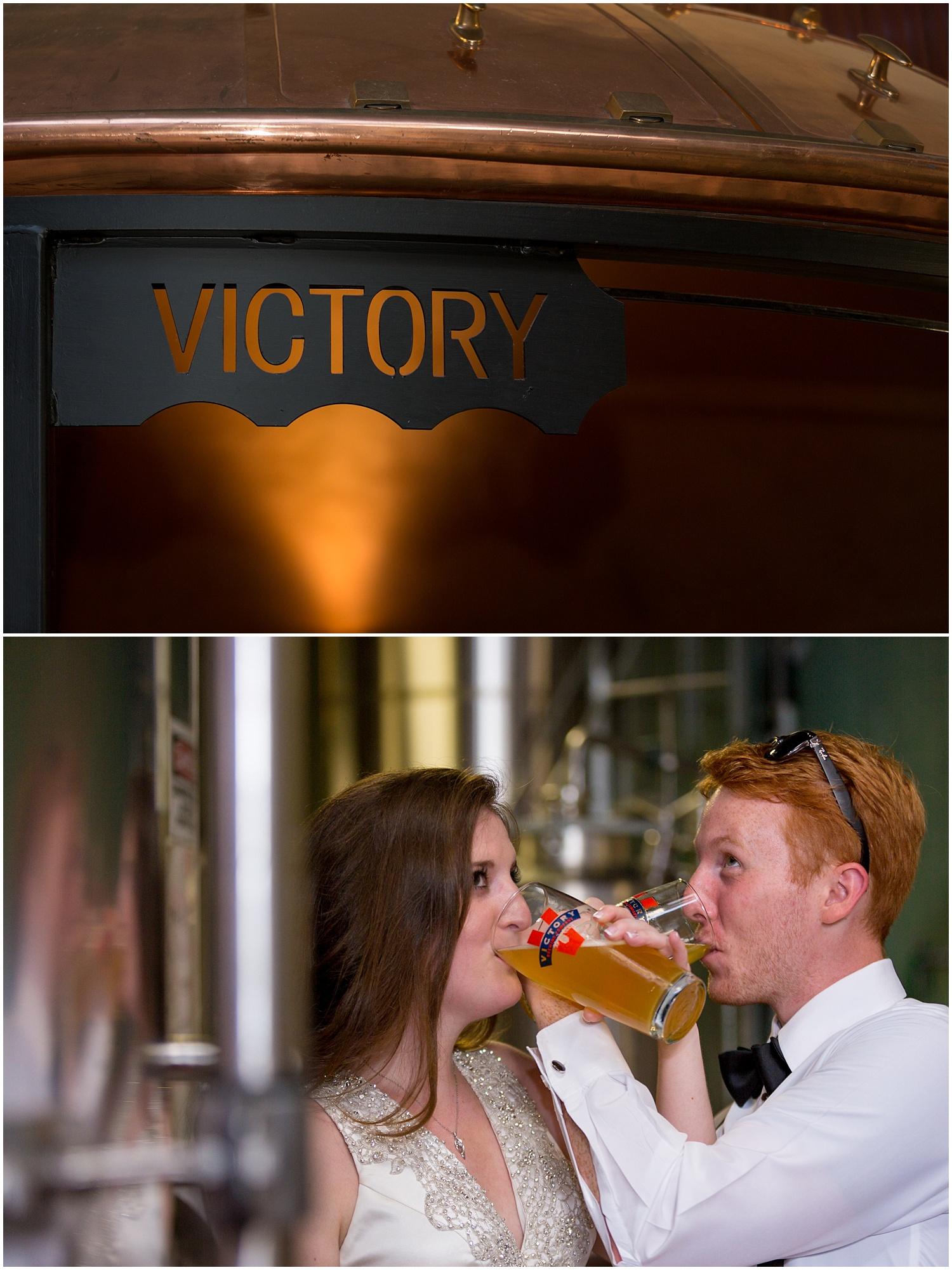 Victory Brewing Company Wedding